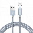 Кабель USB A - micro USB B (1 м) Hoco. U40A магнитный