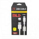 Кабель USB A - USB Type-C (1,5 м) MLD