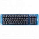 Клавиатура Dialog Multimedia KK-03U синяя
