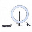 Кольцевая светодиодная селфи лампа 26 см