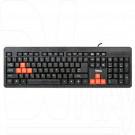 Клавиатура Dialog Standart KS-013U черно-красная