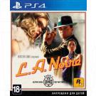 L.A.Noire (русские субтитры) (PS4)