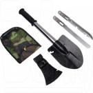 Лопата туристическая 4 в 1 (топор, пила, нож)