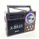 Радиоприемник Meier M-U08 (USB\SD\MP3\220V) + фонарик