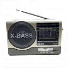 Радиоприемник Meier M-U117 (USB\SD\MP3\220V) + фонарик