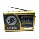 Радиоприемник Meier M-U118 (USB\SD\MP3\220V) + фонарик
