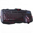 Комплект Marvo КM400 (клавиатура + мышь) с подсветкой