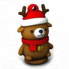 USB Flash 8Gb Smart Buy NY series Медведь Caribou