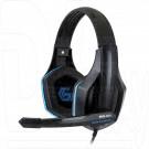 Gembird MHS-G10 гарнитура игровая черно-синяя