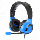 Gembird MHS-G50 гарнитура игровая черно-синяя