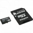microSD 4Gb Smart Buy с адаптером