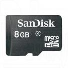 microSD 8Gb SanDisk без адаптера