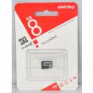 microSD 8Gb Smart Buy без адаптера