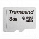 microSD 8Gb Transcend 300S Class 10 без адаптера