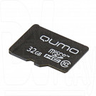 microSDHC 32Gb Qumo Class 10 без адаптера