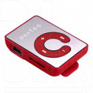 MP3 Perfeo Music Clip Color красный