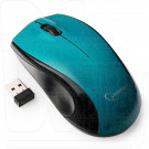 Мышь беспроводная Gembird MUSW-320-B голубая