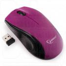 Мышь беспроводная Gembird MUSW-320-P фиолетовая