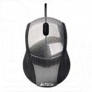 Мышь A4Tech Q3-100-1 USB карбон