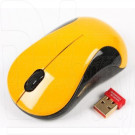 Мышь беспроводная A4Tech G9-320-3 желтая