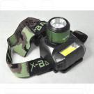 Налобный фонарь аккумуляторный BL-6913 + COB
