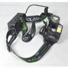 Налобный фонарь аккумуляторный BL-T44B1-T6 + COB