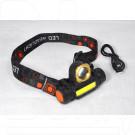 Налобный фонарь аккумуляторный HT-772 LED + COB