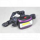 Налобный фонарь на батарейках Y-H696-1W