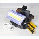 Налобный прожектор аккумуляторный W617/G-T544