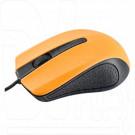 Мышь Perfeo Rainbow черно-оранжевая