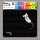 Коврик Dialog PM-H15 черный с мышкой