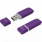 USB Flash 4Gb Smart Buy Quartz series фиолетовая