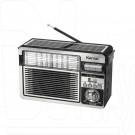 Радиоприемник Kemai MD-515BT-S (Bluetooth\USB\microSD\солнечная батарея)