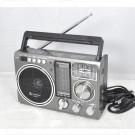 Радиоприемник LUXEBASS A63 (USB\SD\MP3) + фонарик