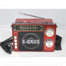 Радиоприемник LUXEBASS A66 (USB\SD\MP3) + фонарик