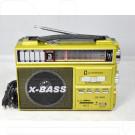 Радиоприемник LUXEBASS A68 (USB\SD\MP3) + фонарик