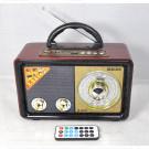 Радиоприемник Meier M-109BT (Bluetooth\USB\MP3\microSD\220V)