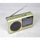 Радиоприемник Meier M-131U (USB\SD\MP3) + фонарик