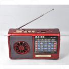 Радиоприемник Meier M-135U (USB\SD\MP3) + фонарик