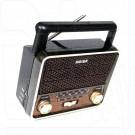 Радиоприемник Meier M-U128 (USB\SD\MP3\220V)