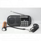 Радиоприемник Aibo UN-09 (Дисплей\USB\ microSD\MP3\АКБ18650)