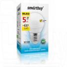 Светодиодная Лампа Smartbuy G45 Е27 5Вт теплый свет