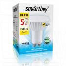Светодиодная Лампа Smartbuy Gu10 5Вт теплый свет