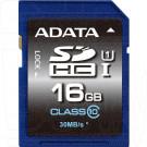 SDHC 16Gb A-Data Class 10 U1