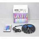 Светодиодная лента цветная 3 м USB YD-1726-3 с пультом