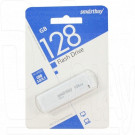 USB Flash 128Gb Smart Buy LM05 белая 3.0