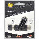 USB Flash 16Gb Eplutus U220 (USB - microUSB) OTG