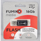 USB Flash 16Gb Fumiko Paris черная