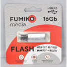 USB Flash 16Gb Fumiko Paris серебро