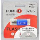 USB Flash 32Gb Fumiko Paris синяя